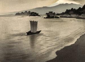 大山詣り舟