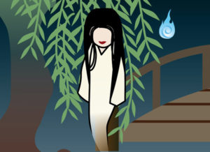 お菊の皿幽霊